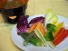 季節の野菜のバーニャカウダ