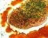 ハムステーキ パセリとガーリックのパン粉焼き