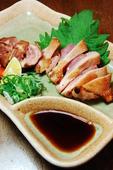 鳥取県大山地鶏たたき