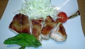 鶏モモ肉の炭火胡椒焼