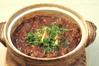牛すじと焼き豆腐の味噌煮込み