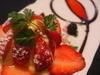 あまおう苺とカスタードのタルト