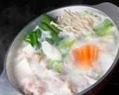 総州古白鶏の水炊き