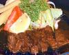 蝦夷鹿のステーキ