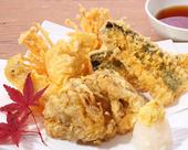 秋刀魚と木の子の天ぷら