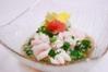 三陸産鱈の白子 ポン酢がけ