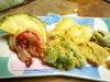 京野菜の天ぷら盛り合せ