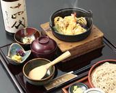 鉄鍋天丼=武蔵府中古墳天丼