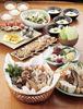 選べる鍋とボリュームある料理が自慢のコース