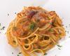 ピリ辛トマトソースのスパゲッティーニ