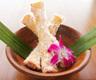 グリーンカレーとココナッツの揚春巻き