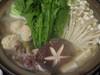 地鶏と鶏つくね鍋
