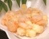 エビとクリームチーズのかき揚げ