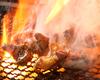 大山地鶏炙り焼き