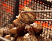 日南鶏モモ肉の炭火焼