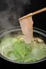 鶏しゃぶと野菜の美鍋