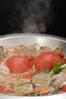 あさりとふんだんトマト鍋