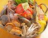 新鮮魚介のトマトチゲ鍋