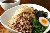 ガッツリ肉蕎麦