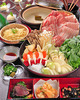 懐石料理+バ-ムクーヘン豚鍋コース