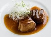 黒酢の豚角煮