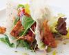 テンペと阿波尾鶏のサラダ