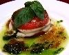 フレシュトマトとモッツァレラチーズの重ね焼き