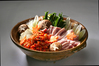 ローズポークの豚キムチ鍋