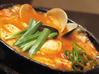 豚肉とキムチの豆腐チゲ
