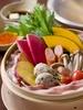 10種の野菜と豚肉の ごまだれ蒸ししゃぶ