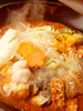 キムチチゲ陶板焼き