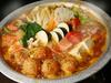 鶏つくねとトマトの欧風カレー鍋