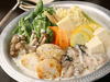 帆立と牡蠣のクリームチーズ鍋