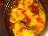 島とうがらし餃子のピリ辛鍋
