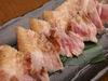 ばら肉の海塩炭焼き