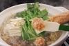 コラーゲンと食物繊維たっぷりの塩ちゃんこ鍋