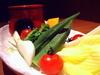 こだわり野菜のバーニャカウダ