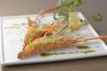 手長海老のチーズパン粉焼き
