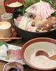 自然薯とろろ鍋のコース