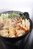 水餃子とたっぷりきのこの忍辛鍋