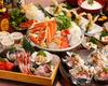 蟹海鮮と豆冨の寄せ鍋コース