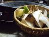 生椎茸の溶岩焼