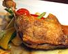 ホロホロ鶏のコンフィ レフォールのソース