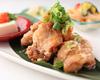 2 若鶏の竜田揚げ たっぷり薬味おろし定食
