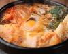 NEW おぼろ豆腐とたっぷり野菜のチゲ鍋定食