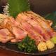 宮崎県産 山岳地鶏のたたき