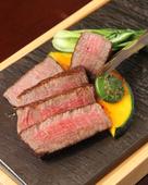 鉄板肉料理