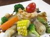 旬野菜の炊き合わせ