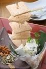葉わさびのチーズ豆富