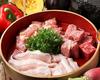 熔岩で焼く お肉3種盛り